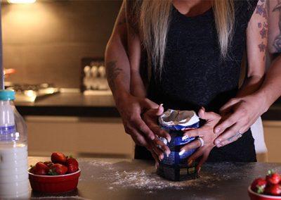 Giochi sexy con cuoco