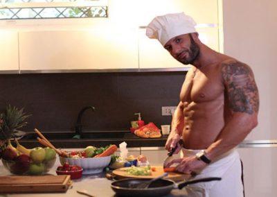 Cuoco Sexy per eventi