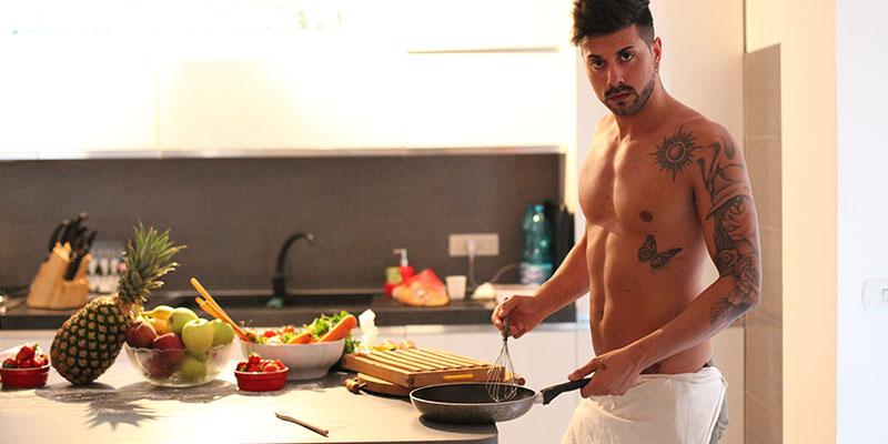 Il Sexy Cuoco italiano in Cucina